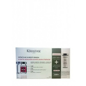Kerastase Specifique Aminexil Serum 20X6ml Bain Prevention Sampuan 250Ml Dokulme Onleyici Set